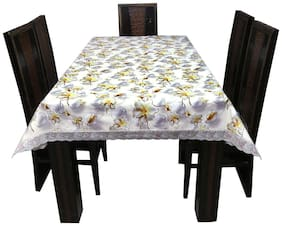 Art House PVC High Grade Dining Table Cover 6 Seater (L: 198.12 cm (78 inch); W: 137.16 cm (54 inch))