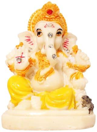 Buy ART N HUB Marble Look Hindu God Shri Ganesh Statue lord Ganesha