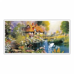 ARTAMORI Beautiful Home in nature Paper Poster