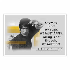 Artamori The Great Thought By Brucelee Paper Poster