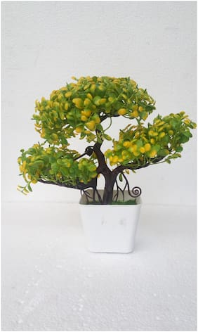 Artificial Bonsai Plant With Pot Height 18cm
