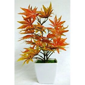 Artificial Mapple Bonsai Tree With Pot