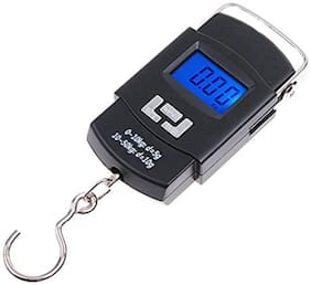 Aryshaa Digital Heavy Duty Portable Hook Type with Temp Weighing Scale, 50 kg.