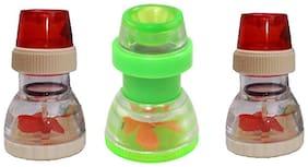 Aryshaa Kitchen & Bathroom Tap Shower Sprinkler Shower Head Assorted Colours (Set Of 3)