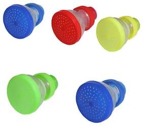 Aryshaa Kitchen & Bathroom Tap Shower Sprinkler Shower Head Assorted colours (Set Of 5)