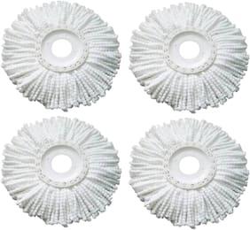 Aryshaa MicroFiber Mop Heads (Set of 4 pcs)