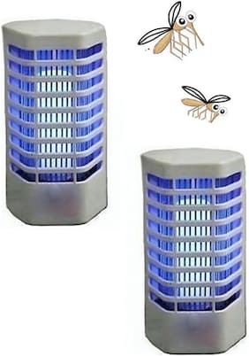 Aryshaa  night lamp cum Mosquito N Insect Killer -MK (Pack of 2)