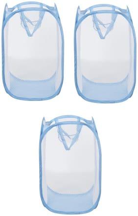 ARYSHAA Net Multi Laundry Basket ( Set Of 3 )