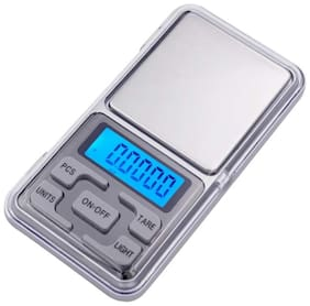 Aryshaa Pocket Scale Mini Portable Electronic Digital Weighing Scale for Measuring Jewellery and Kitchen 200g - (Pack of 1)