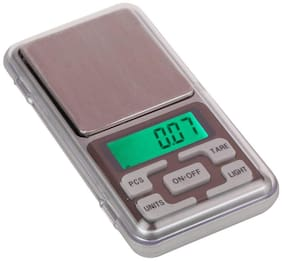 Aryshaa Pocket Scale Mini Portable Electronic Digital Weighing Scale for Measuring Jewellery and Kitchen 500g - (Pack of 1) weight machine