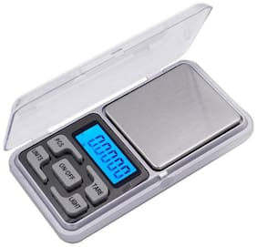 Aryshaa Pocket Scale Mini Portable Electronic Digital Weighing Scale for Measuring Jewellery and Kitchen 500gm - (Pack of 1)