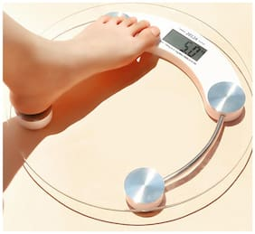 Aryshaa Weight Machine  Digital Personal Health Body Weight Scale 8mm Weighting Machine(Pack of 1)