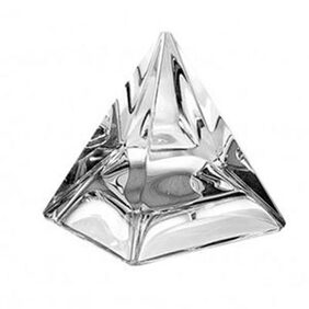 Asha Feng Shui Transparent Crystal Pyramid