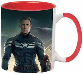 Ashvah Captain America Civil War Ceramic Coffee Mug by Ashvah - MUG1634