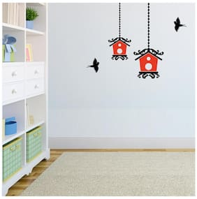 Asian Paints Printed Wall sticker ( Set of 1 )