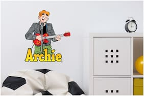Asian Paints Wall Ons Original Archie 'L' - 'Request a song' Removable Wall Sticker