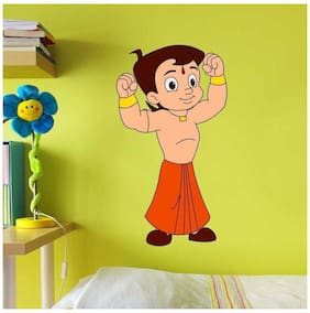 Asian Paints Nilaya - Chhota Bheem and Friends 12.5 x 23 wall decal - Muscles