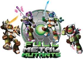 Asian Paints Wall Ons Original TMNT 'XXL' - 'Full Metal Mutants' Removable Wall Sticker