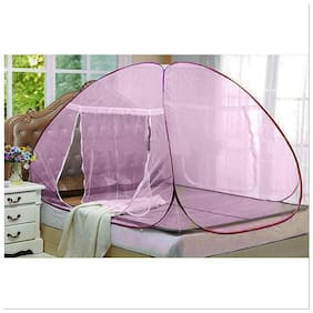 ASP Fitness Double Bed Sized Folding Mosquito Net With Carry Bag (Size- Large)