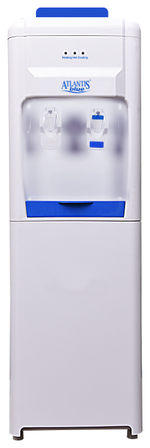 Atlantis Atlantis Blue Normal & Cold Floor Standing Water Dispenser (White;Blue)