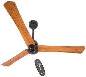 Atomberg Renesa+ 900mm Ceiling Fan with Remote Control (Oakwood)
