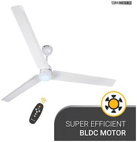 Atomberg Renesa 1400mm Ceiling Fan with Remote Control (White)