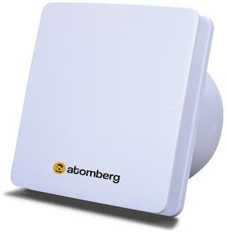 Atomberg  Studio 150mm BLDC motor Energy Saving Exhaust Fan (Stainless Steel Pack of 1)
