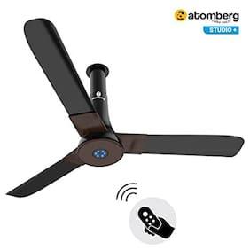 Atomberg Studio+ 1200 mm Premium Ceiling Fan ( Brown )