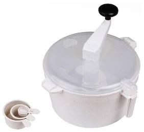 Atta maker Plastic Vertical Dough Maker  (White) 1Pc