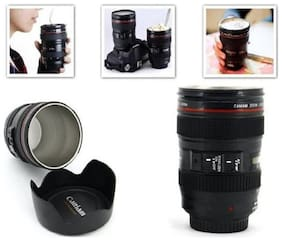 Attractive 300ml Creative Emulation Camera Lens Coffee Mug Cup Beer Cup Wine Cup Novelty Gift (1pc.)