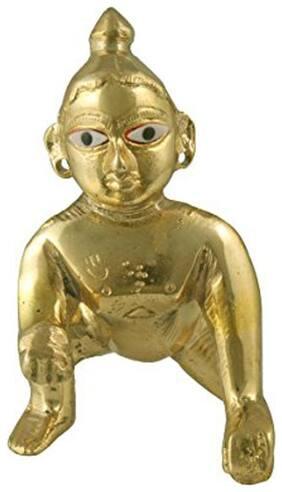 Attractive Metal Krishna Idols   bal Gopal   laddu Gopal Statue in Brass