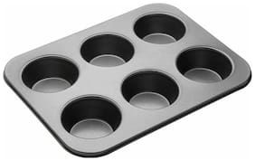 Authfort  6 - Cup Cupcake/Muffin Mould  (Pack of 1) 33 Ratings & 0 Reviews