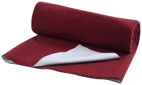 AVI - Premium Quality Quickly Dry Super Soft Waterproof and Reusable Mat / Underpad / Absorbent Sheets / Mattress Protector-24x40-Maroon