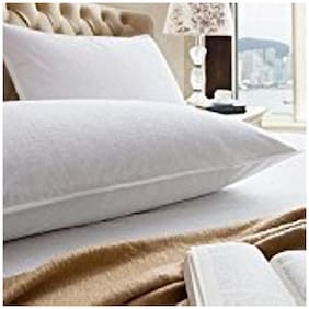 AVI Waterproof And Dustproof Pillow Protector (Set of 2) White- 17 X 27 inch