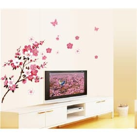 AY6008 blossom flower nature Wall Sticker JAAMSO ROYALS