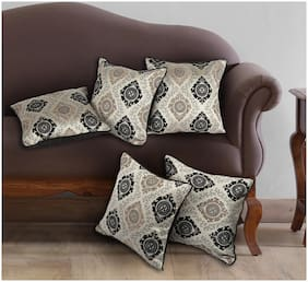 AZZARRO Set of 5 Polyester Cushion Covers