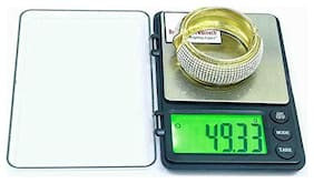 Baijnath Premnath Atom MH888 Palm weight machine maximum weight 1kg (1000g) Accuracy 10mg (0.01g) Multipurpose Jewelery and medicine weighing scale (for research)
