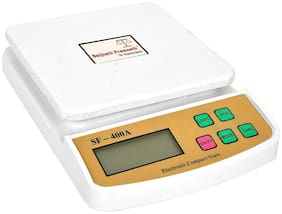 Baijnath Premnath Digital 10kg x 1g Kitchen Scale Balance Multi-purpose weight measuring machine Weighing Scale {for research}