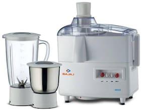 Bajaj AMAZE 450 W Juicer Mixer Grinder ( White , 2 Jars )