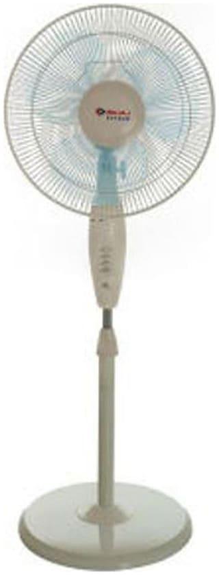 Bajaj Esteem 400 mm Decorative Pedestal Fan ( White , Pack of 1 )