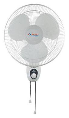 Bajaj Esteem w/F S/S 3 Blades (400 mm) Wall Fan (White)