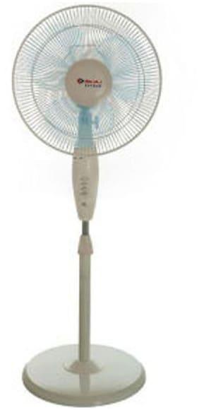 Bajaj Esteem 400 Mm Pedestal Fan - White