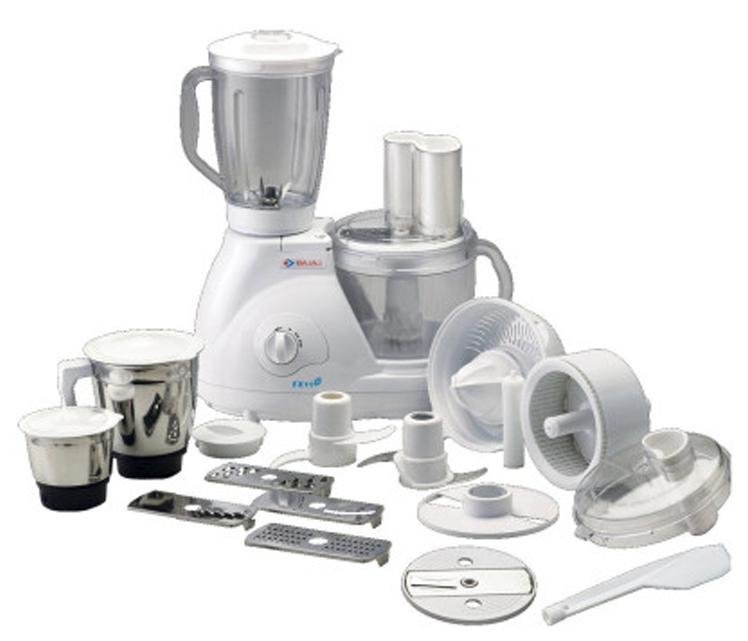 Bajaj Fx11 Food Factory 600 W Food Processor (White)