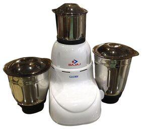 Bajaj Glory 500 W Mixer Grinder (White & Brown/3 Jar)