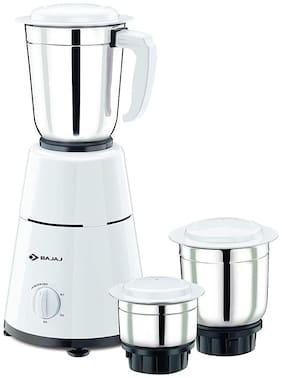 Bajaj GX 1 500 W Mixer Grinder ( White , 3 Jars )