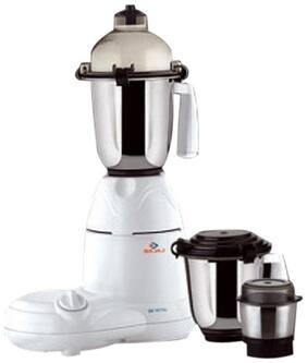 Bajaj GX 10 DLX 600 W Mixer Grinder ( White , 3 Jars )