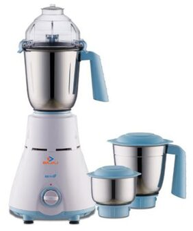 Bajaj Gx 11 750 W 3 Jars Centrifugal Juicer ( White & Blue )