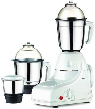 Bajaj GX 8 750 w Mixer grinder ( White , 3 jars )