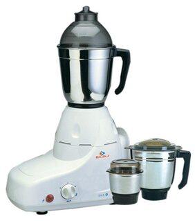 Bajaj GX-8 750 W Mixer Grinder (White/3 Jar)