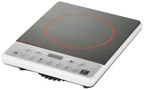 Bajaj ICX PEARL 1900 W Induction Cooktop ( Black & White , Push Button Control)